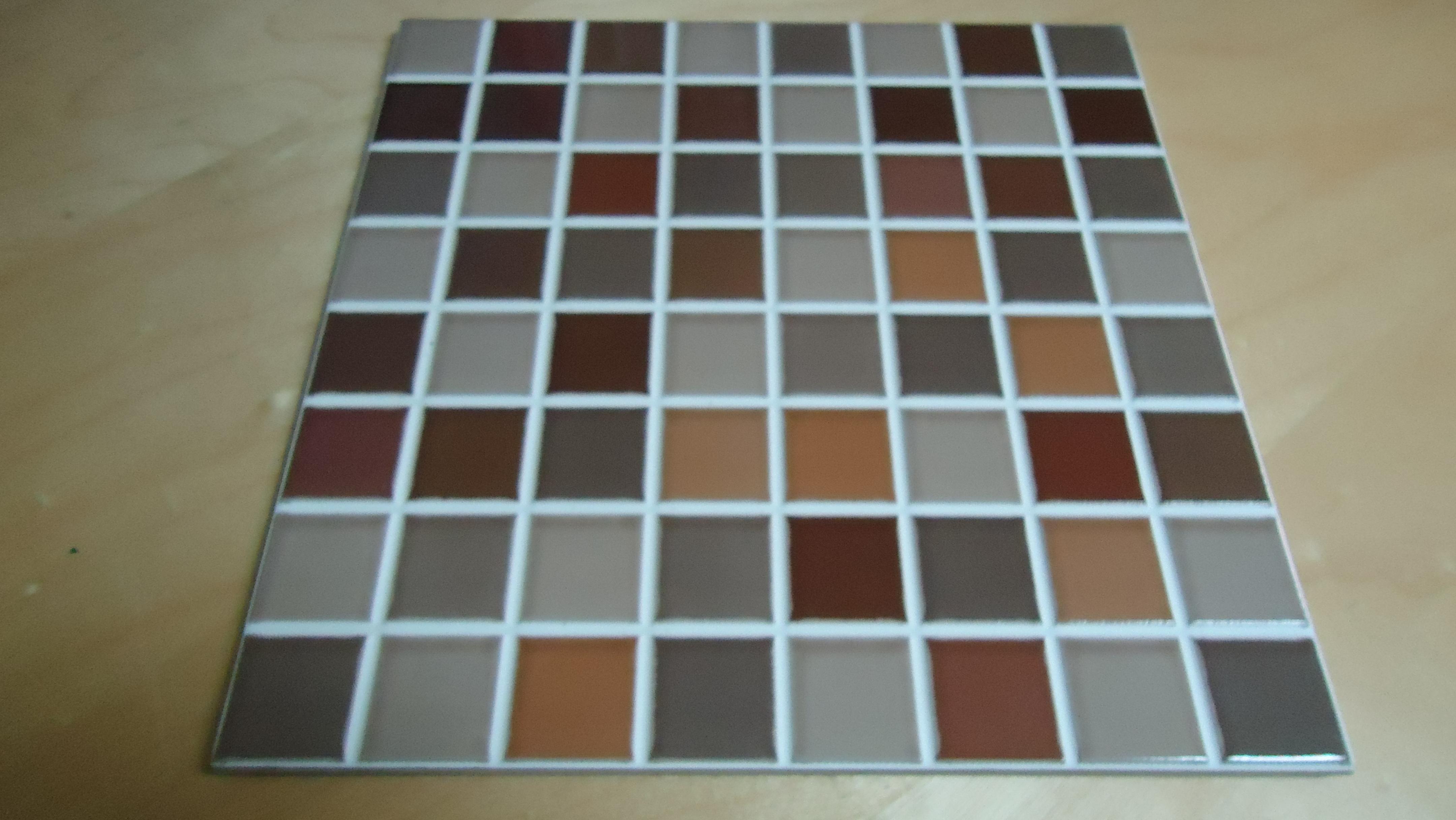 Azulejos imitaci n gresite en tonos terracota disponemos - Azulejos de gresite ...